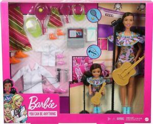 Barbie & Chelsea Careers Playset: Doctor, Tennis Star & Musician Pieces - NIB