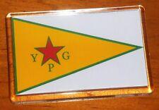 People's Protection Units YPG Rojava Flag Fridge Magnet