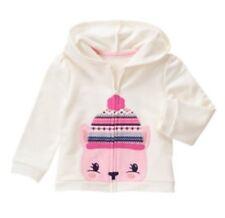 NWT Gymboree Fair Isle Flurry Squirrel Hoodie Sweatshirt 2t-3t M Toddler Girl
