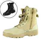Comfort Men US Army Tactical Military Combat Ankle Boot Work Desert Leather Shoe