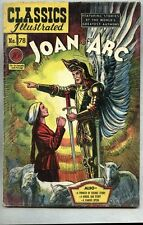 Classics Illustrated #78-1950 fn- 1st edition Joan Of Arc