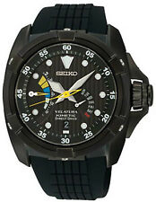 Seiko Velatura SRH013 Men's Black IP Yachting Kinetic Direct Drive Watch