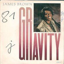 "45 TOURS / 7"" SINGLE--JAMES BROWN--GRAVITY / GRAVOTY ""DUB""--1986"