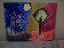 "One of Kind Art ""TWO SIDES TO EVERY STORY"" Original"