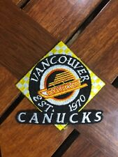 VANCOUVER CANUCKS IRON ON PATCH 3 1/4""