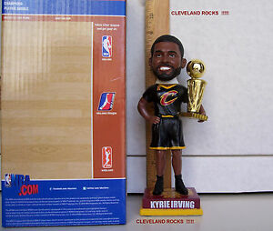 2016 KYRIE IRVING 2015-16 NBA CHAMPIONSHIP TROPHY BOBBLEHEAD CLEVELAND CAVALIERS