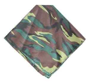 Bandana Head Tie Wear Neck Scarf Wrist Wrap Head Band 100% Cotton Bandana