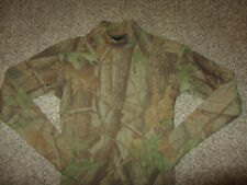 Under Armour Cold Gear Long Sleeve Athletic Shirt Compression Green Camo Sm S