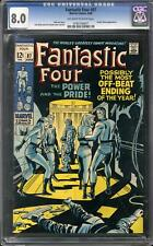 Fantastic Four #87 CGC 8.0 (OW-W)