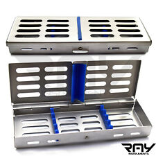 Dental Cassette Rack Tray Box Autoclave Adjust Scaler Surgical Instruments