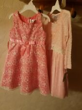 Joungland dress for girls.  Lot of 2. Size 5. Multicolor. Retail price  $ 102.00