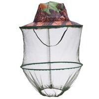 Mosquito Head Net Insect Protector Cover for Head to Neck Camping Fishing Q