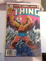 The Thing #1 (1983) key book origin of thing Ben Grimm. Newsstand edition