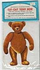 Paper Doll Kit, unopened: Teddy Bear