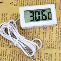 Digital LCD Celsius Thermometer Aquarium Refrigerator Temperature Detector DE
