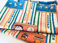 Vintage Peanuts Pillowcase W/ Charlie Brown Snoopy Lucy Linus Montgomery Ward