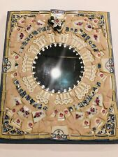 Vintage Mosaic Handmade Hanging Wall Cottage Shabby Chic Mirror