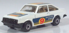 "Matchbox Superfast Ford Escort RS2000  3"" Diecast Scale Model Rally Shell Dunlop"