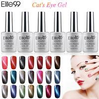 Hot Elite99 Soak Off 3D Magnetic Cat Eye Gel Polish UV LED Nail Art Design 12ml