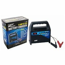 Pro User 4 Amp 6 Amp Car Van Lorry Battery Charger Starter Booster