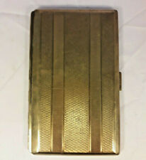 Antique Vintage  Gold coloured Cigarette Case