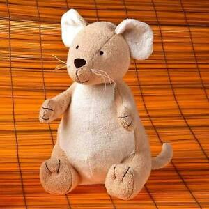 """1 X Bamboo Plush Soft Toys 9"""" Bunny Mouse-Top quality! Enviromental friendly"""