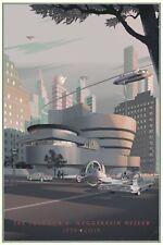 Laurent Durieux Guggenheim Variant Print Frank Lloyd Wright Print Kurtz Timeless