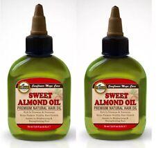 2 PK $9  SWEET ALMOND OIL Difeel Sunflower Mega Care 2.5 OZ Each FAST SHIPPING