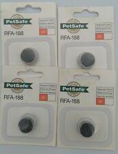 4 ea PetSafe RFA-188 Battery 3Volt Lithium Replacement Battery Module