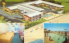 Ocean Strand Motor Inn Myrtle Beach, South Carolina Roadside Postcard 1971