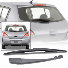 Rear Wiper Arm & Blade Windshield For Nissan Versa 2007-2011 Back Rubber