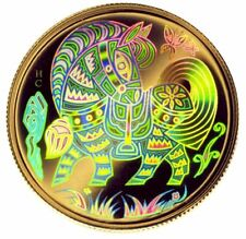 2002 Canada $150 Gold Hologram Lunar Year of the Horse Proof - OGP