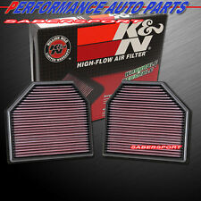 """IN STOCK"" K&N 33-2488 HI-FLOW AIR INTAKE FILTER 2012+ BMW M5 M6 / 2014+ M3 M4"