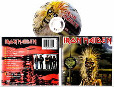 IRON MAIDEN - Iron Maiden (enhanced CD Multimedia) 1981 Remastered 1998
