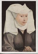 Alte Kunstpostkarte - van der Weyden - Bildnis einer jungen Frau
