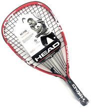 Head MX Fire Racquetball Racquet 3 5/8 Metallix Penn  Red Black - New
