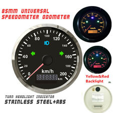 85mm GPS speedometer 200km/h Odometer For Car Truck motorcycle OverSpeed Alarm