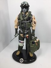 1/6 DRAGON F-15,F-16,F-117 FIGHTER PILOT+STAND+RADIO+FLIGHT BAG DID BBI RC 21ST