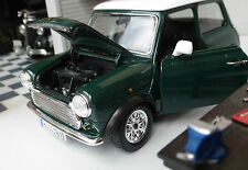 Austin Rover Mini Classic Cooper Green LGB G 1:24 Scale Diecast V Detailed Model