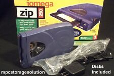 250 MB IOMEGA SCSI ZIP DRIVE for AKAI MPC2000XL + 3 250MB DISKS CLEANED/TESTED