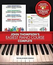 John Thompson's Easiest Piano Course - Complete : 4-Book/4-CD Boxed Set by...