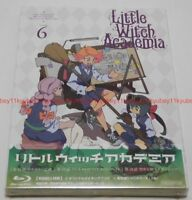 Little Witch Academia Vol.6 First Limited Edition Blu-ray Making Book Card Japan