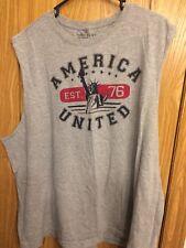 America United Sleeveless Shirt 2xl
