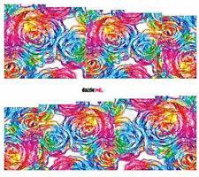 Calcomanías de transferencia de Agua Pegatina de Arte en Uñas Arte Decorativo Diseño Remolino De Rosas (DC247)