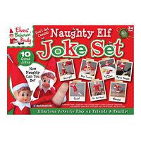 Elves Behaving Badly On the Shelf Naughty Elf Joke Set