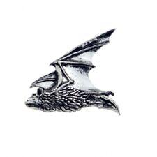 Flying Bat Pewter Lapel Pin Badge/Brooch Goth Gothic Vampire Dracula BNWT/NEW Gi