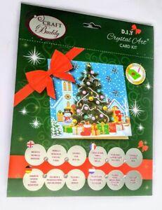 "Craft Buddy Crystal Card Making Kit  ""Christmas Tree"""
