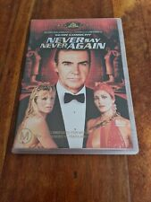 Never Say Never Again - DVD James Bond 007 Sean Connery