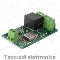 ESP8266 Modulo relè network WIFI Ingresso 7-30V 12V 24V ESP-12F 220V 10A