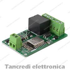 Modulo ESP8266 relè 220V 10A ESP-12F Network Relay WIFI Input DC 7V 12V 24V 30V